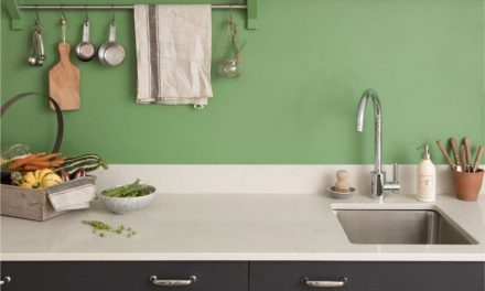 How to add bold colours into your kitchen