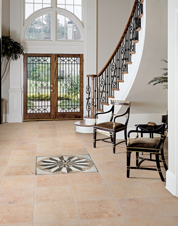 Start with the entryway
