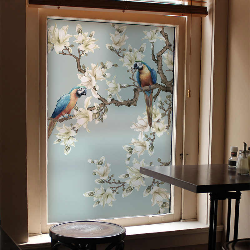 Window Film Is Available In Various Patterns