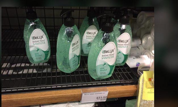 Marks & Spencer in row over £11.50-a-bottle hand sanitiser