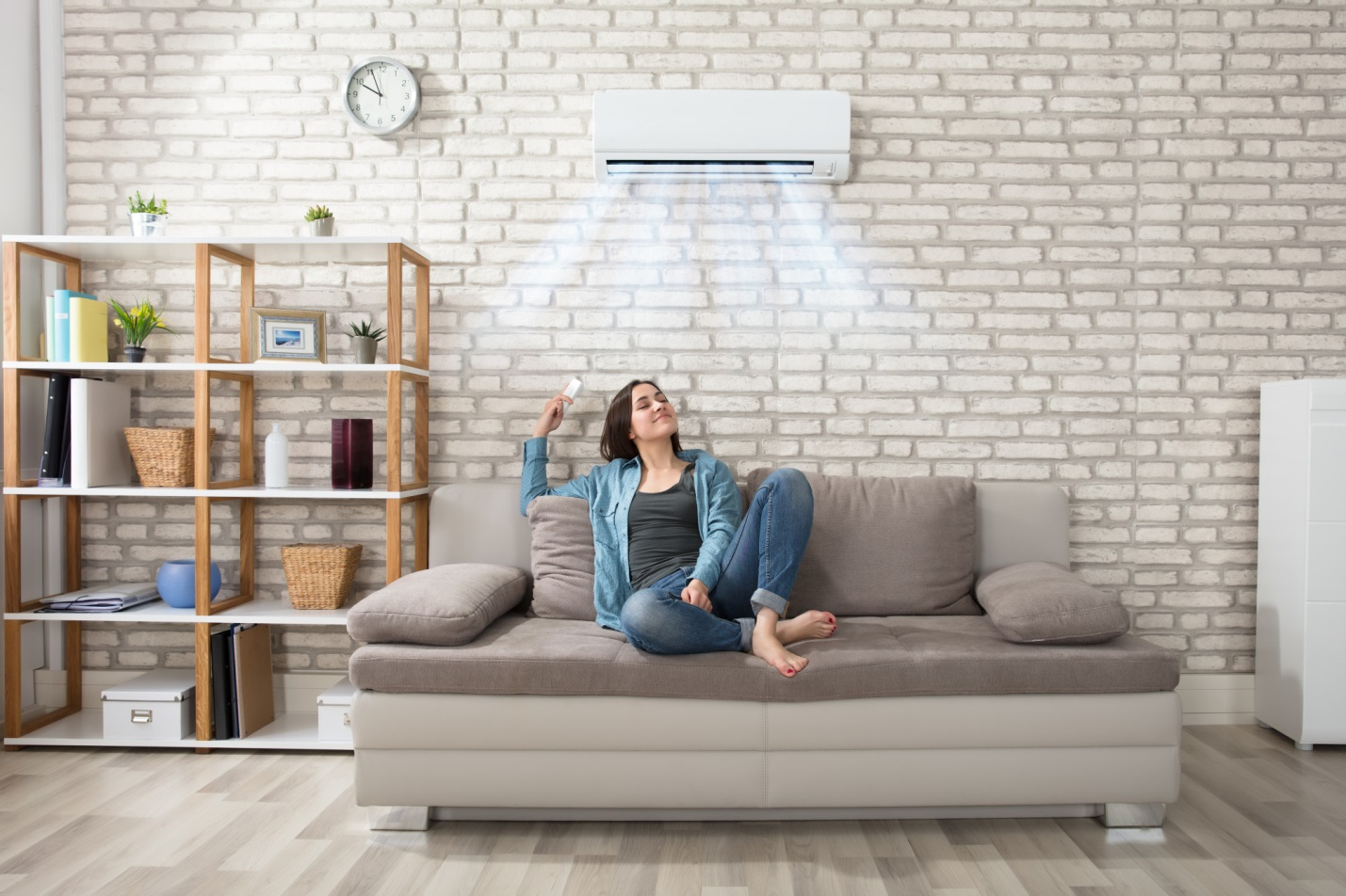 The air conditioner is not cooling your house correctly.