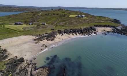 Private island with seven luxury properties sells for over £5 million