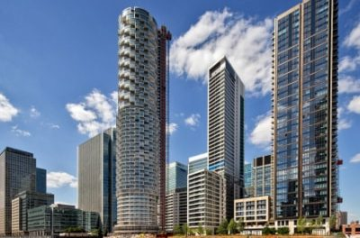Wood Wharf district welcomes its first surge of residents