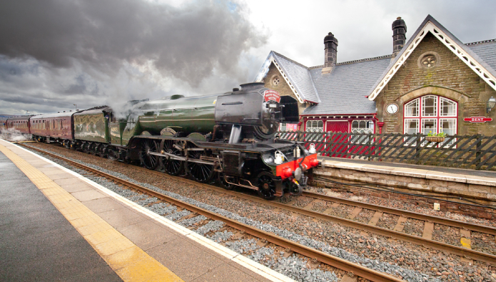 All aboard – historic station holiday home secured for future generations