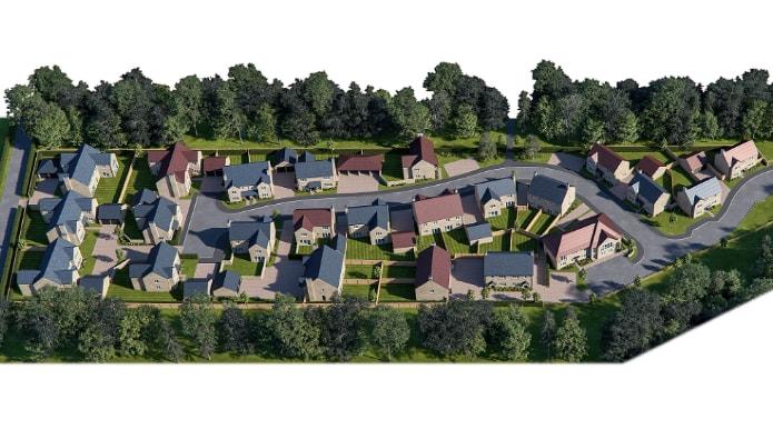 Progress made on new £15m housing development in West Oxfordshire