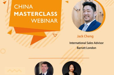 Webinar – how much UK property could the Chinese be buying this year?