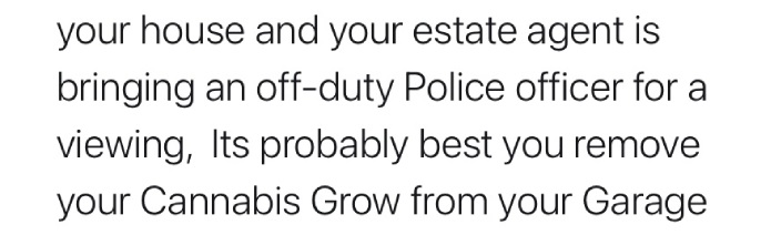 A Fair Cop: no need to plant evidence in this rental property