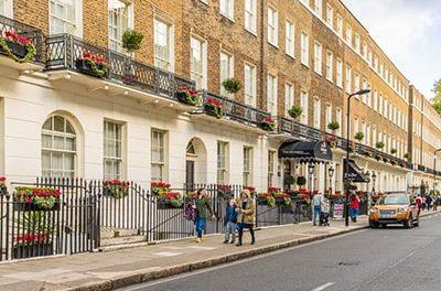 How has the prime London market fared in 2021 so far?