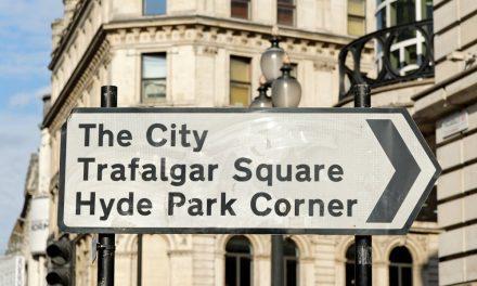 Prices fall in London's most prestigious areas