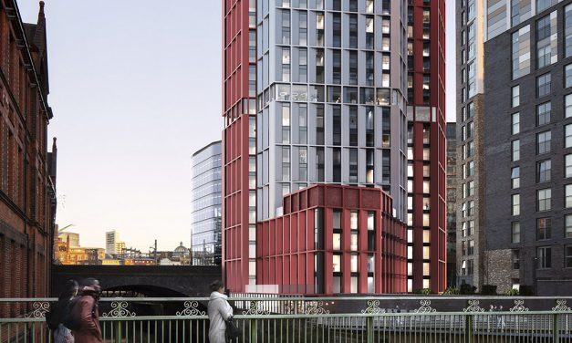 Contractors eyed for £45m Salford tower as plans submitted