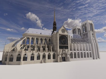 Notre-Dame Cathedral: 3D twin unveiled to aid reconstruction