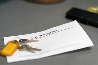 Impending foreclosures and evictions