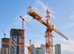 Surge in construction